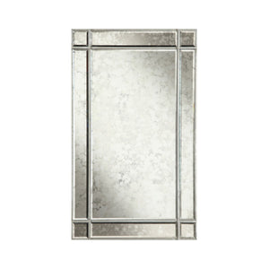 Florentine 22 X 36 Traditional Mirror - Silver Leaf Finish (Mr1-1001Sa) Mirror