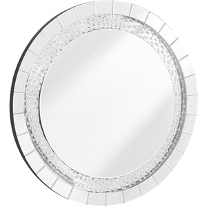 Sparkle 39 X 39 Contemporary Mirror - Clear Finish (Mr9102) Mirror