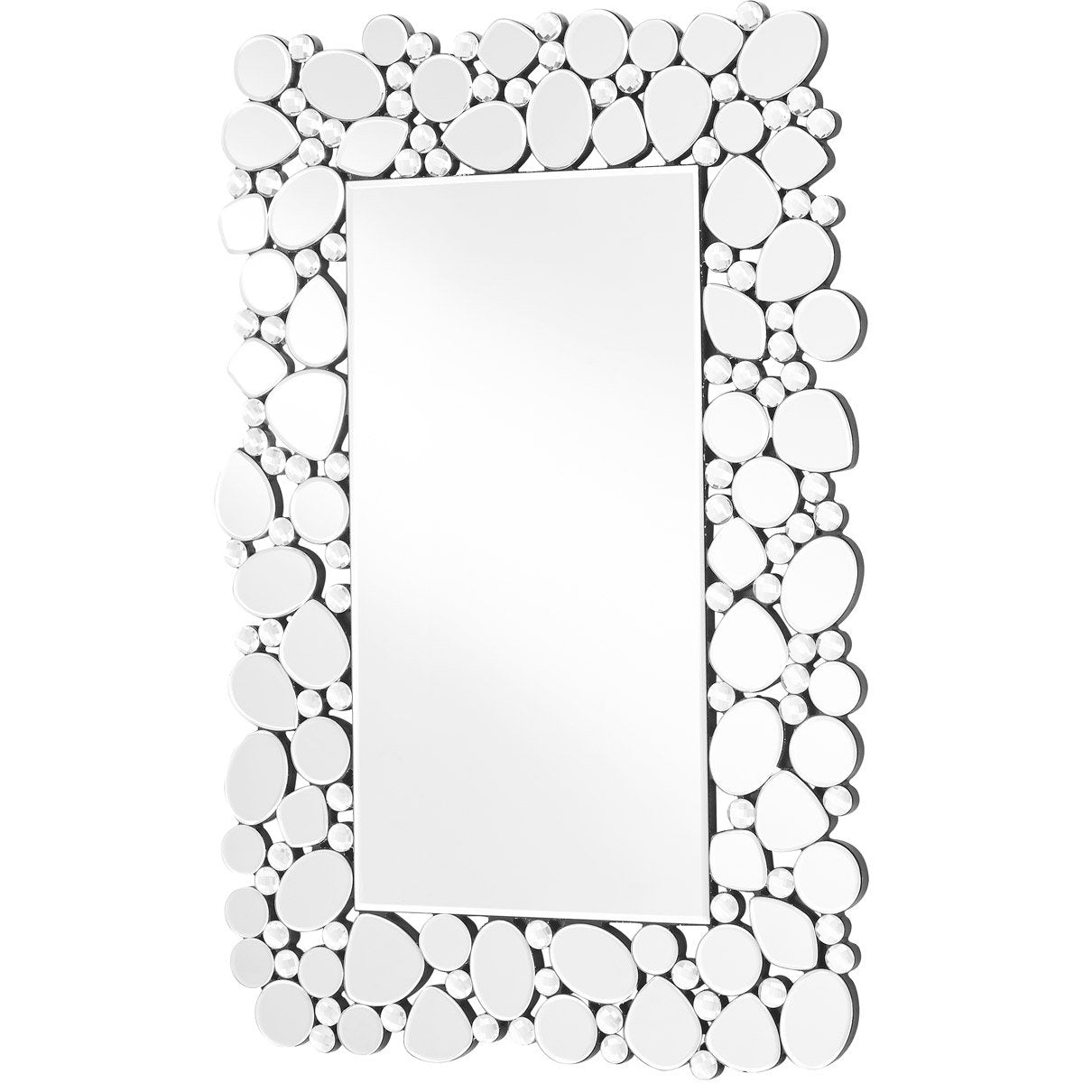 Sparkle 22 X 35 Contemporary Mirror - Clear Finish (Mr9122) Mirror