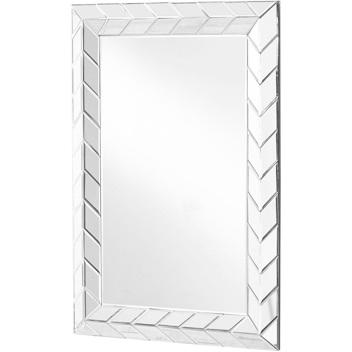 Sparkle 23.5 X 35.5 Contemporary Mirror - Clear Finish (Mr9125) Mirror