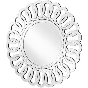 Sparkle 31.5 X 31.5 Contemporary Mirror - Clear Finish (Mr9127) Mirror