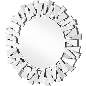 Sparkle 39.5 X 39.5 Contemporary Mirror - Clear Finish (Mr9132) Mirror