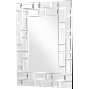 Sparkle 27.5 X 37 Contemporary Mirror - Clear Finish (Mr9151) Mirror