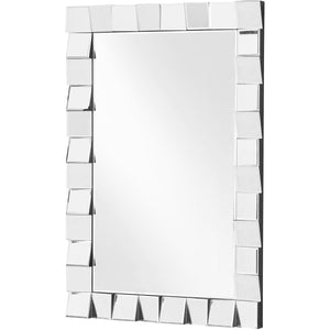 Sparkle 23.5 X 35.5 Contemporary Mirror - Clear Finish (Mr9158) Mirror