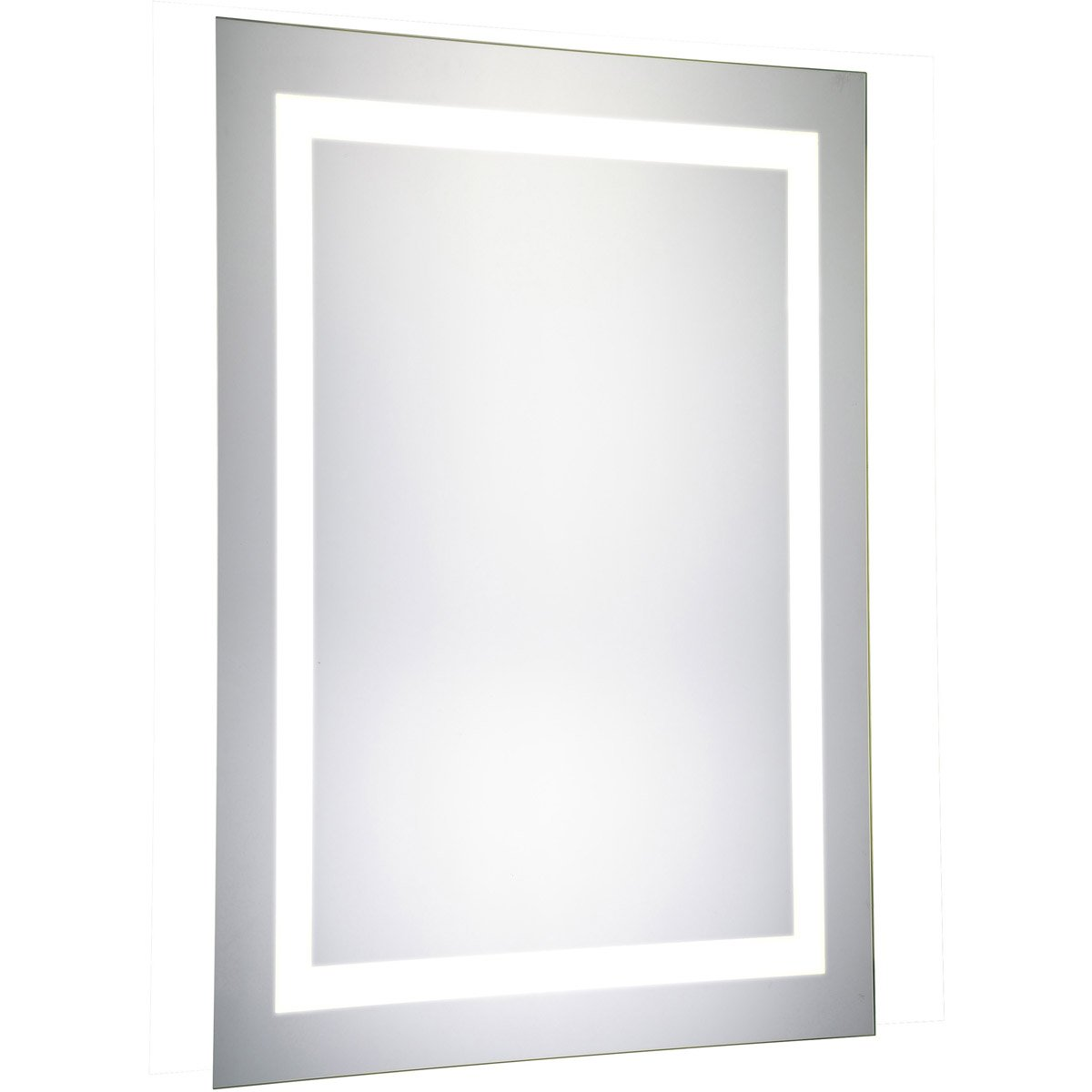Nova 40 X 20 Hardwired Glossy White Led Wall Mirror (Mre-6002) Led Mirror