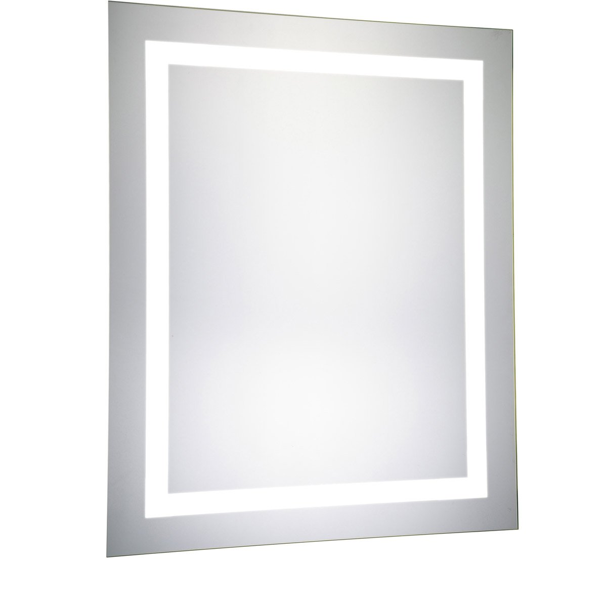 Nova 30 X 24 Hardwired Glossy White Led Wall Mirror (Mre-6003) Led Mirror
