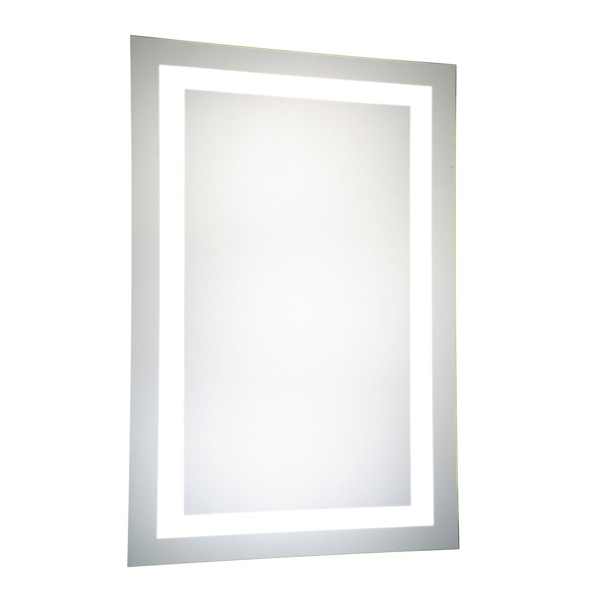 Nova 40 X 24 Hardwired Glossy White Led Wall Mirror (Mre-6004) Led Mirror