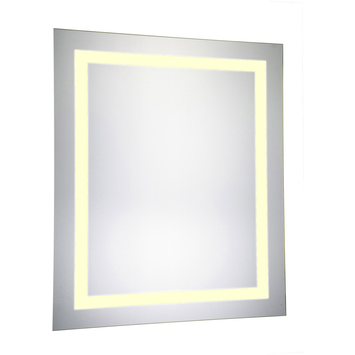 Nova 30 X 20 Hardwired Led Wall Mirror - Glossy White Finish (Mre-6011) Led Mirror