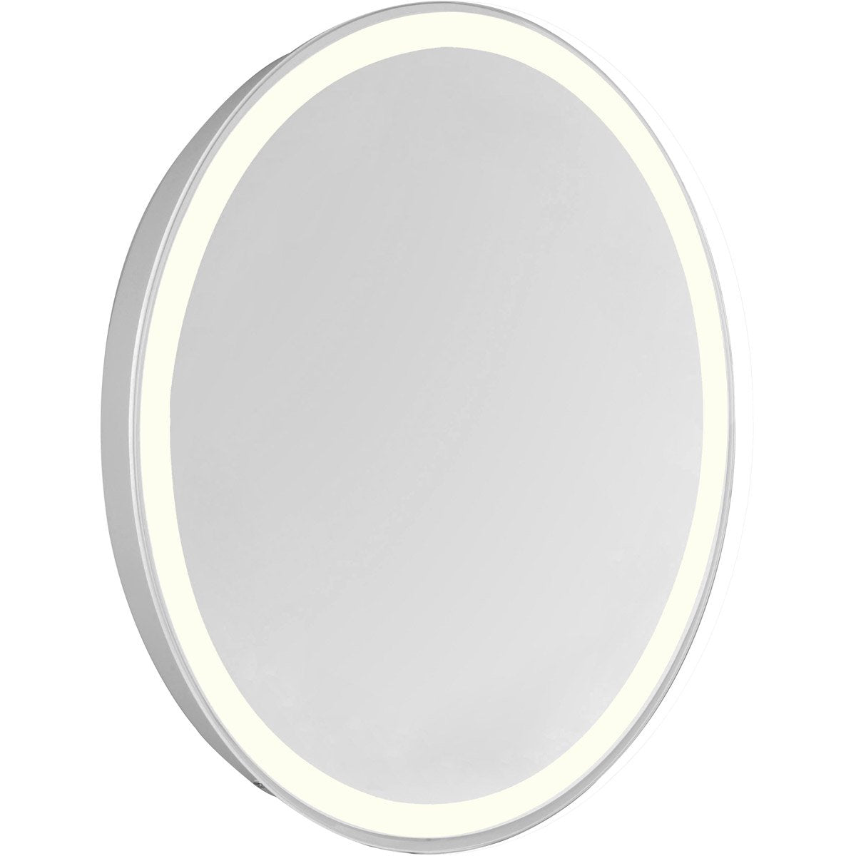 Nova 28 X 21 Hardwired Glossy White Led Wall Mirror (Mre-6116) Led Mirror