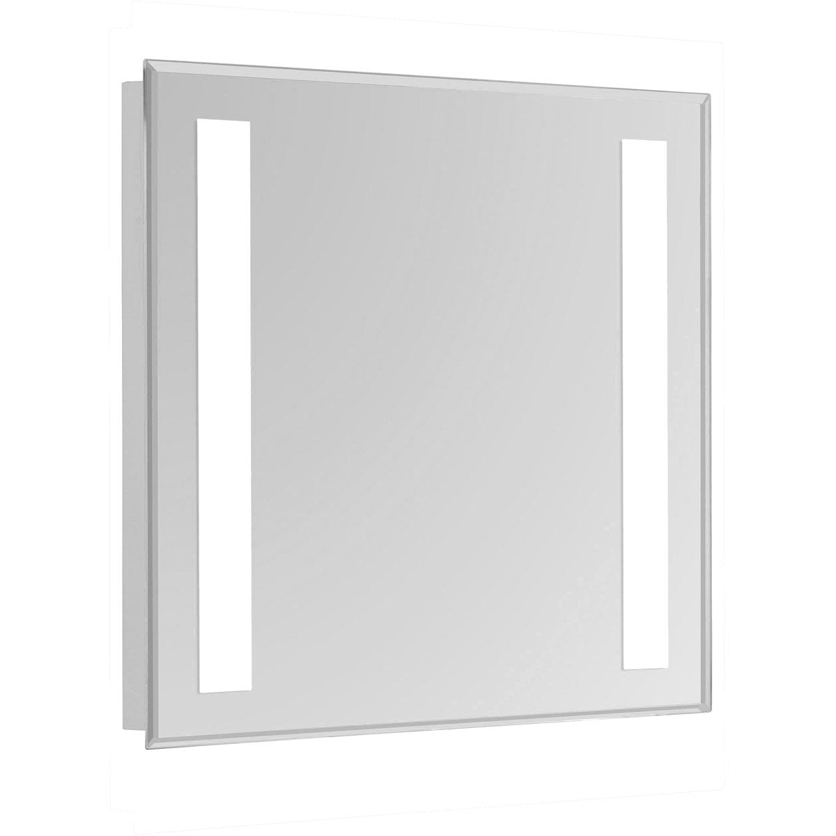 Nova 30 X 20 Hardwired Glossy White Led Wall Mirror (Mre-6301) Led Mirror