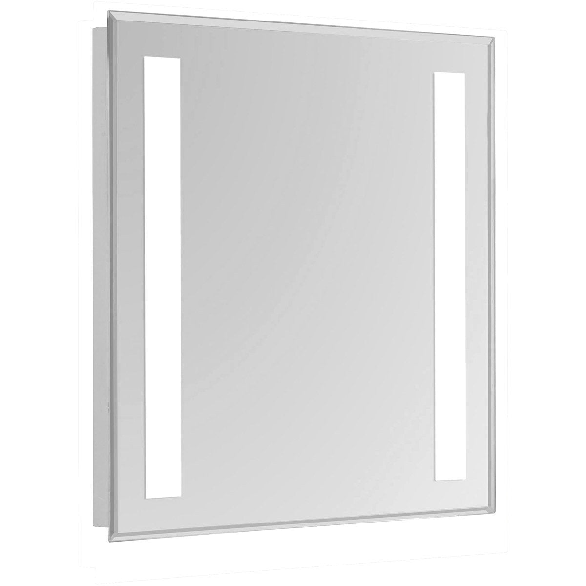 Nova 30 X 24 Hardwired Glossy White Led Wall Mirror (Mre-6303) Led Mirror