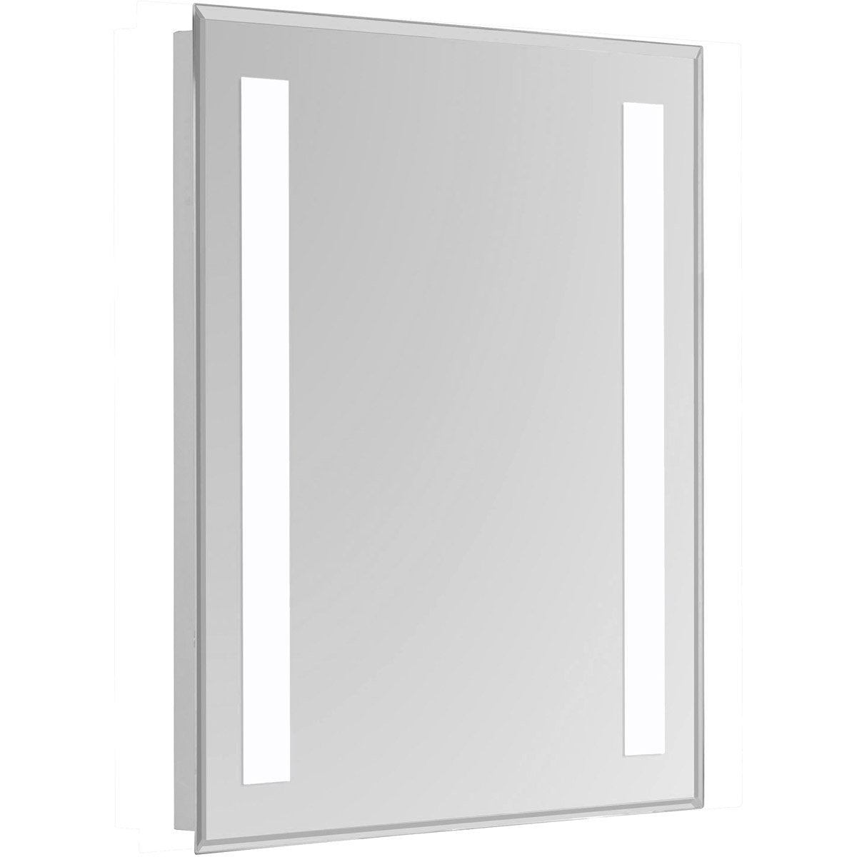 Nova 40 X 24 Hardwired Glossy White Led Wall Mirror (Mre-6304) Led Mirror