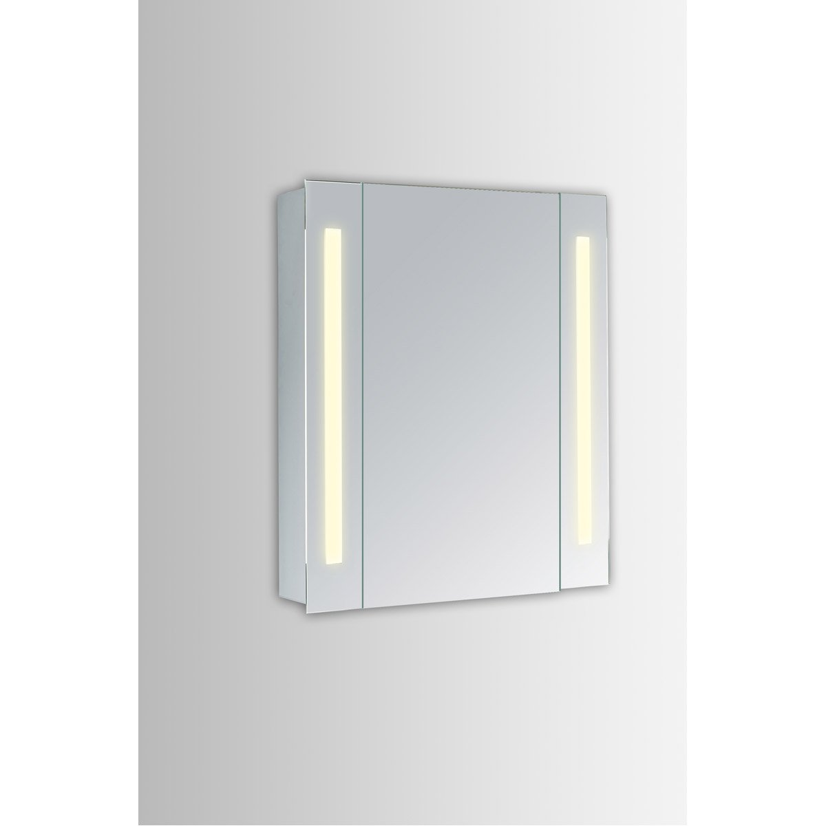 Elixir 30 X 23.5 Led Mirror Cabinet - Silver Finish (Mre8001) Led Cabinet