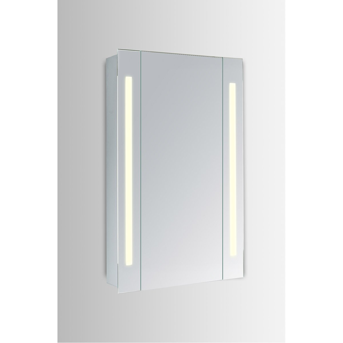 Elixir 30 X 23.5 Led Mirror Cabinet - Silver Finish (Mre8012) Led Cabinet