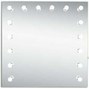 Hollywood 36 X 36 Led Mirror - Silver Anodized Finish (Mre8525K) Led Mirror