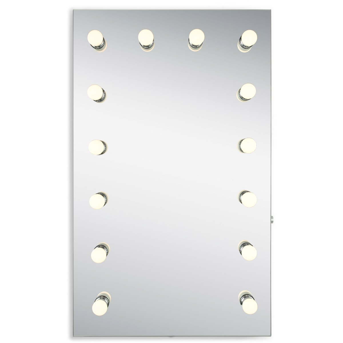 Hollywood 39.5 X 24 Led Mirror - Silver Anodized Finish (Mre8533K) Led Mirror