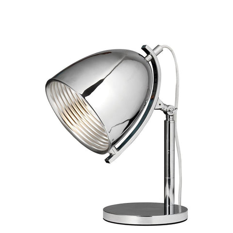 Industrial 17 Table Lamp - Chrome Finish Table Lamp