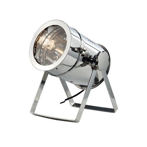 Industrial 13 Table Lamp - Chrome Finish Table Lamp