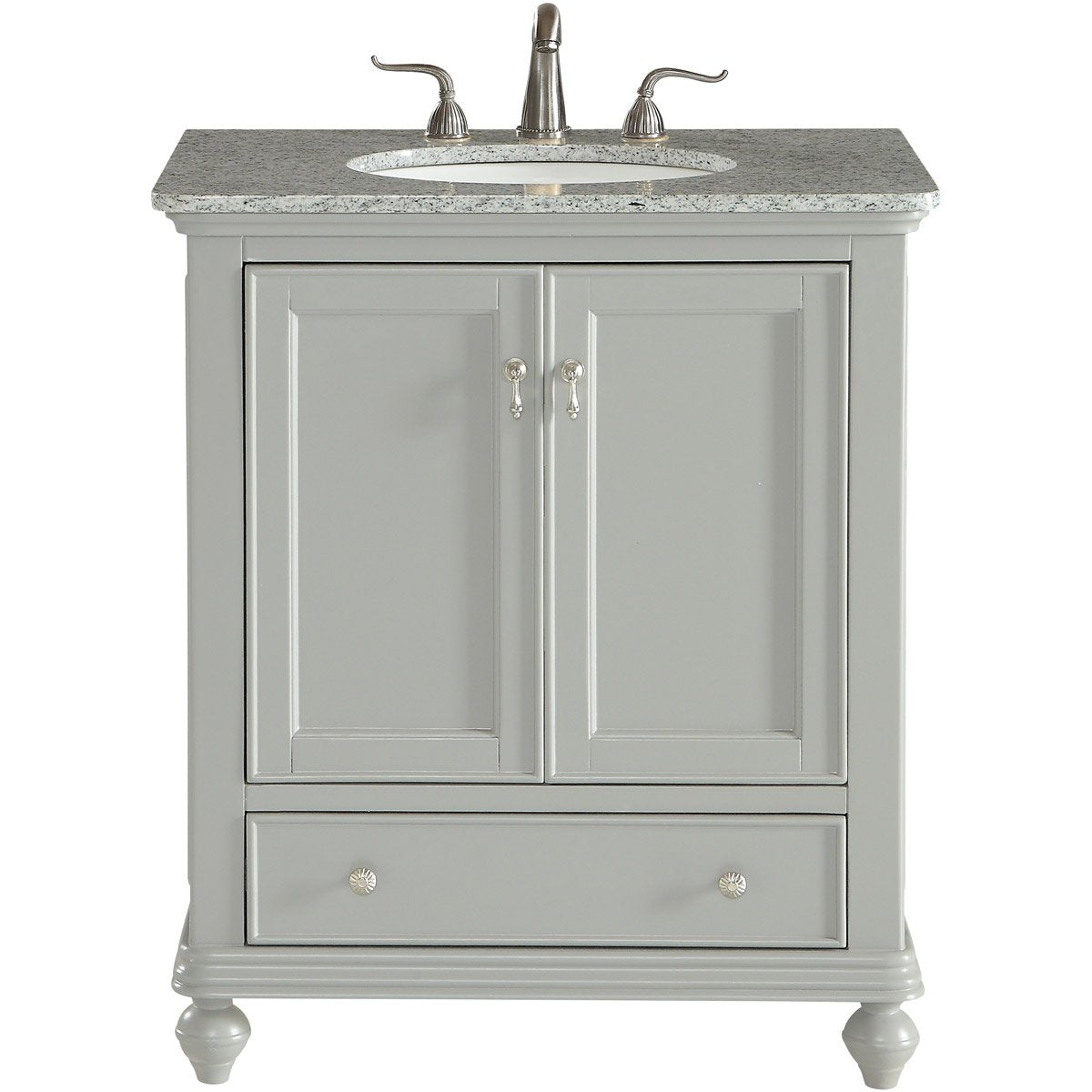 Otto 30 X 35 2 Door Vanity Cabinet - Light Grey Finish (Vf12330Gr) Vanity