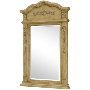 Danville 24 X 36 Traditional Mirror - Antique Beige Finish (Vm-1001) Mirror