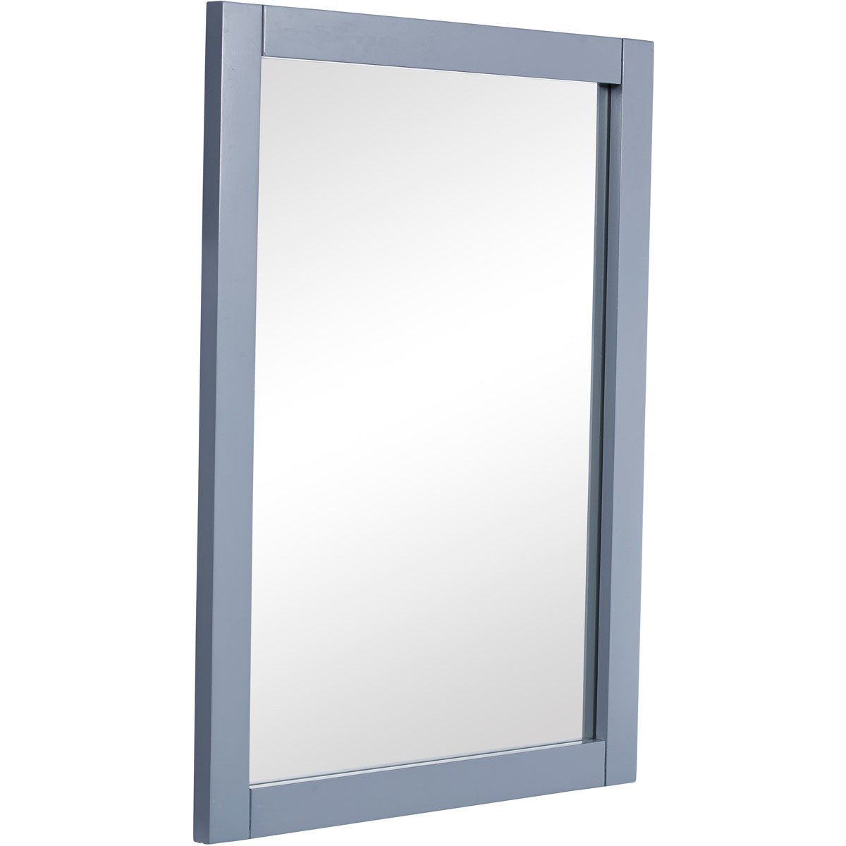 Park Avenue 22 X 32 Contemporary Mirror - Grey Finish (Vm12522Gr) Mirror