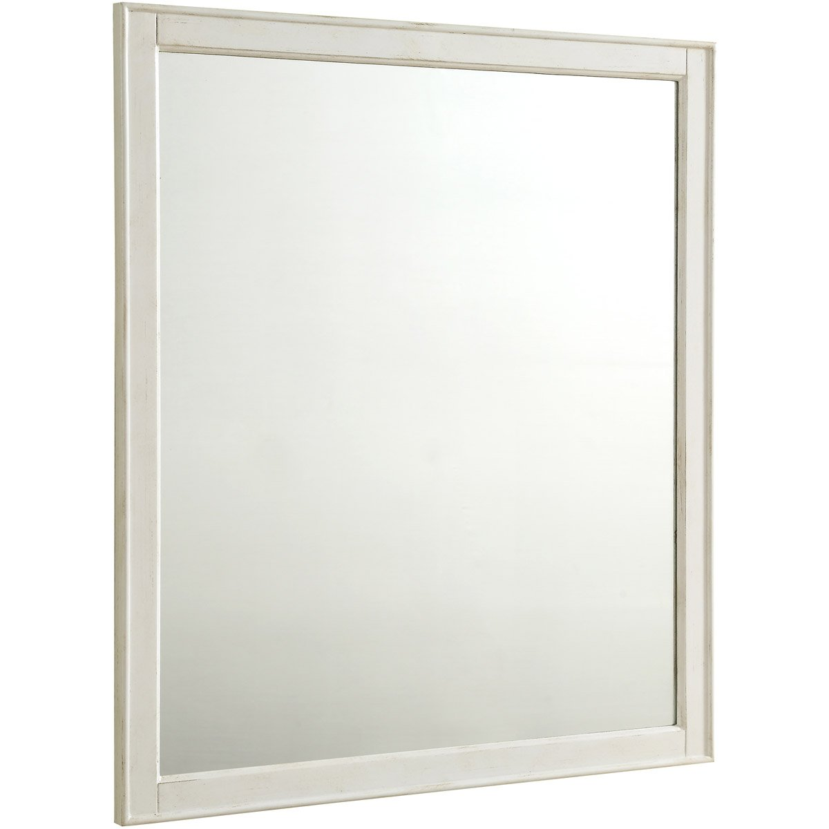 Lexington 32 X 36 Traditional Mirror - Antique White Finish (Vm13032Aw) Mirror