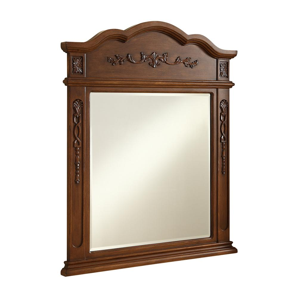 Danville 32 X 38 Traditional Mirror - Brown Finish (Vm3001Br) Mirror