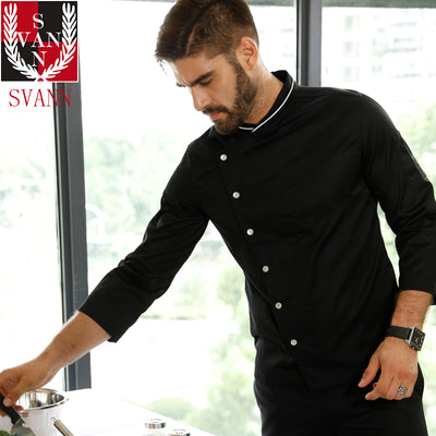 Head chef jacket unisex long sleeve Uniform