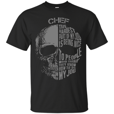 Proud Chef's  T-Shirt Design