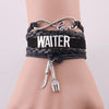 WAITER and WAITRESS Charm bracelet