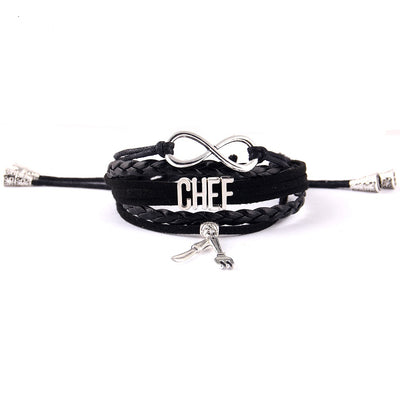CHEF bracelet Knife fork charm jewelry