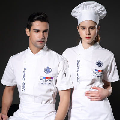 Chef Uniform Short Sleeved