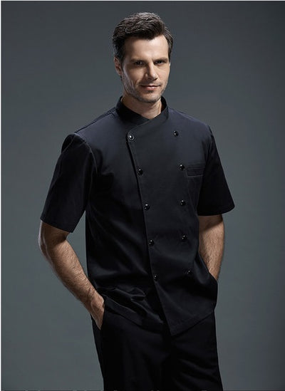 High Quality Chef Uniforms Short Sleeve - V1183056