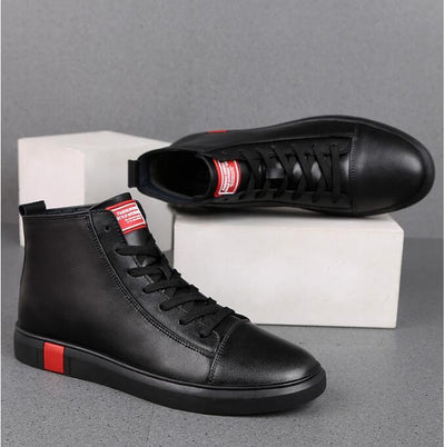 KITCHEN SHOES, CHEF BOOT, WATERPROOF, ANTI-SKID AND OIL PROOF COW LEATHER  WORKING ZAPATOS - SG4024
