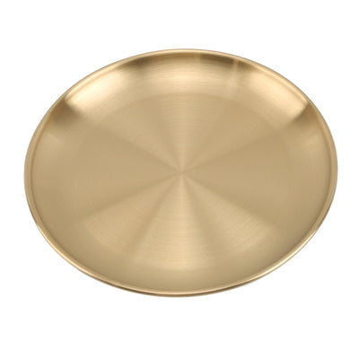 European Style Dinner Plates Gold Dining - KITCHEN TOOL
