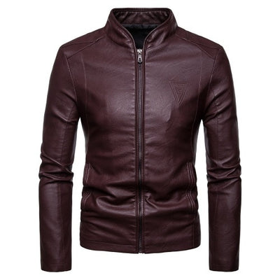 New Spring and Autumn CHEF Leather Jacket Uniform - 1217-PY07