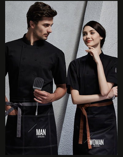 New arrival summer short sleeve chef uniform