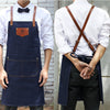 Denim cowboy Chef Apron