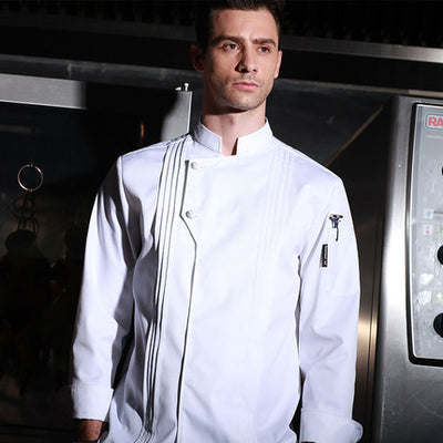 New arrival high quality Chef uniform long sleeve