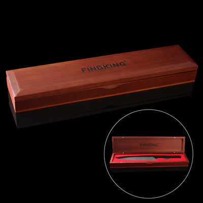 Wooden knife box gift case for kitchen knife