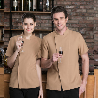 Latest Fashion Chef Uniform Men & Women - LT2618F