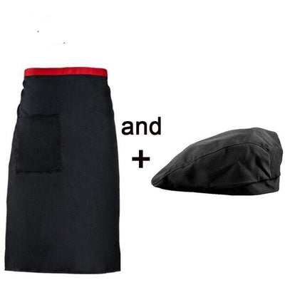 high - quality chef hat + apron uniform