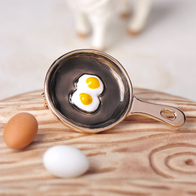 CHEF CHARM Shape Brooch COOKING JEWELRY