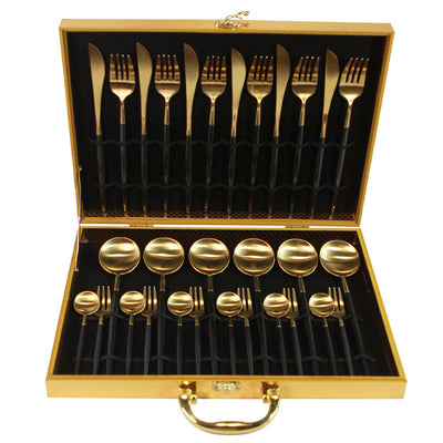 30-Pieces Dinner Knife Fork With Giftbox - KITCHEN TOOL