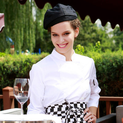 Woman chef wear uniform clothes - 2019