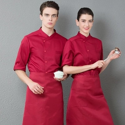 NEW CHEF'S JACKET UNIFORM - YL207MJ