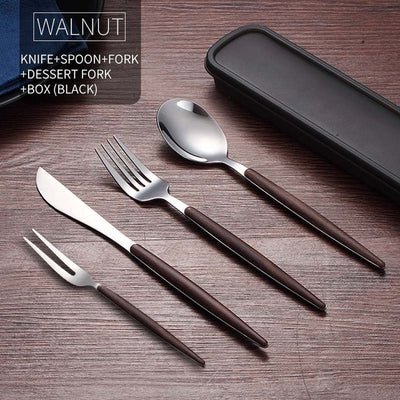 KNIFE FORKS TEASPOONS  Dinnerware Travel - KITCHEN TOOL