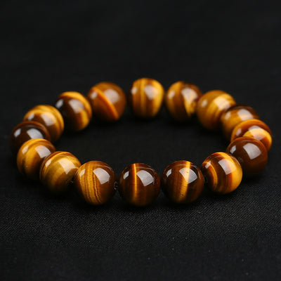 NATURAL TIGER'S EYE STONE BRACELETS & BANGLE FOR CHEF - SL1536
