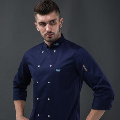 NEW CHEF'S JACKET UNIFORM - LYDS040SL