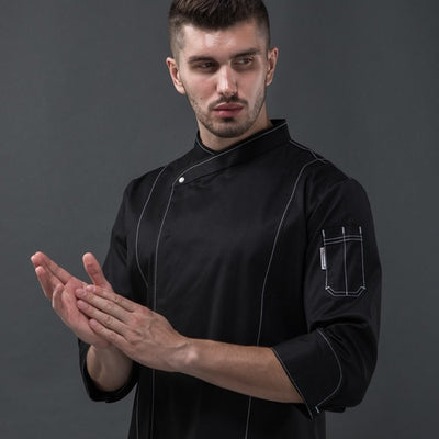 High quality head chef jacket uniforms - 08-1-23
